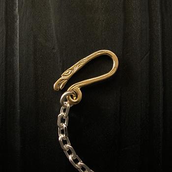 ARIZONA FREEDOM ゴールドアクセサリー Gold 留め具 【NO.29】 ゴールド イーグル Sフック 素材: K18 【GoldTop】