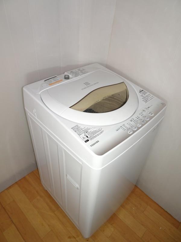 【中古 】東芝 TOSHIBA 5kg 2015年製 1人暮らし用 全自動洗濯機 京都市内送料分割引