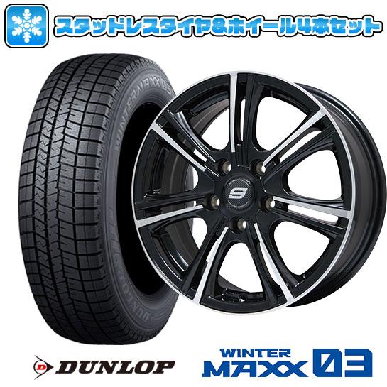 送料無料 DUNLOP ダンロップ ウィンターMAXX 03 215 70R15 低価格化 15インチ スタッドレスタイヤ 人気の製品 ホイール4本セット 6.00-15 5穴 ウインターマックス WM03 BRANDLE M68BP 114 ブランドル 取付対象 6J