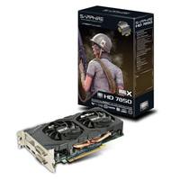 SAPPHIRE オリジナルDUAL-XクーリングファンHD7850 2G GDDR5 PCI-E DVI-I / DVI-D / HDMI / DP 正規代理店保証付