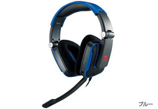 TteSPORTS SHOCK Headset(Blue) 正規代理店保証付