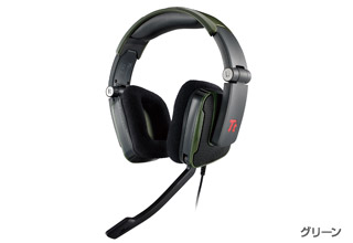 TteSPORTS SHOCK Headset(Green) 正規代理店保証付