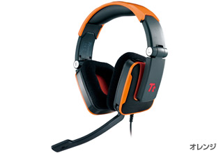TteSPORTS SHOCK Headset(Orange) 正規代理店保証付