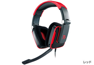 TteSPORTS SHOCK Headset(Red) 正規代理店保証付