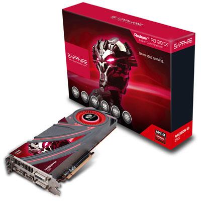 【送料無料】 Sapphire R9 290X 4G GDDR5 PCI-E DUAL DVI-D / HDMI / DP 正規代理店保証付