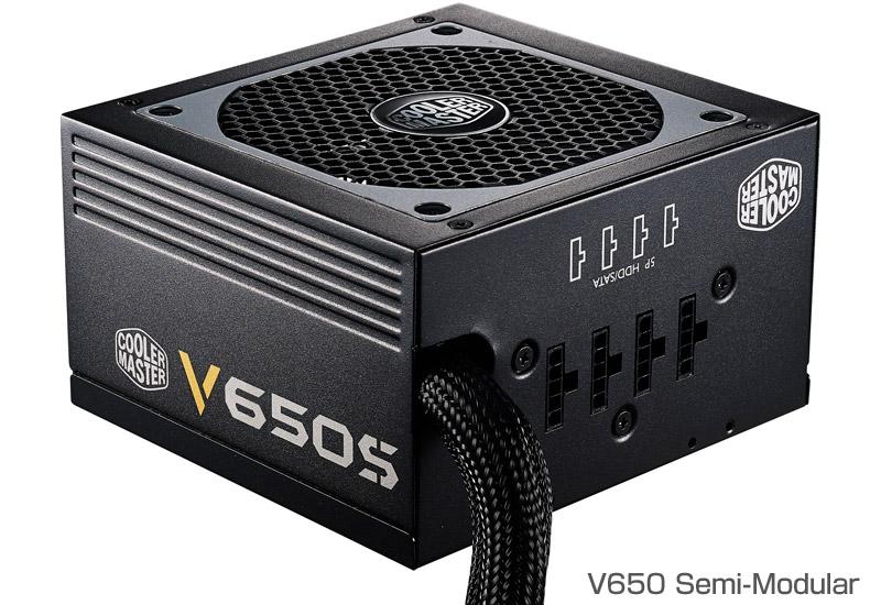 Cooler Master Technology V650 Semi-Modular 正規代理店保証付
