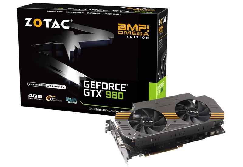 【送料無料】ZOTAC GeForce GTX 980 AMP Omega 正規代理店保証付