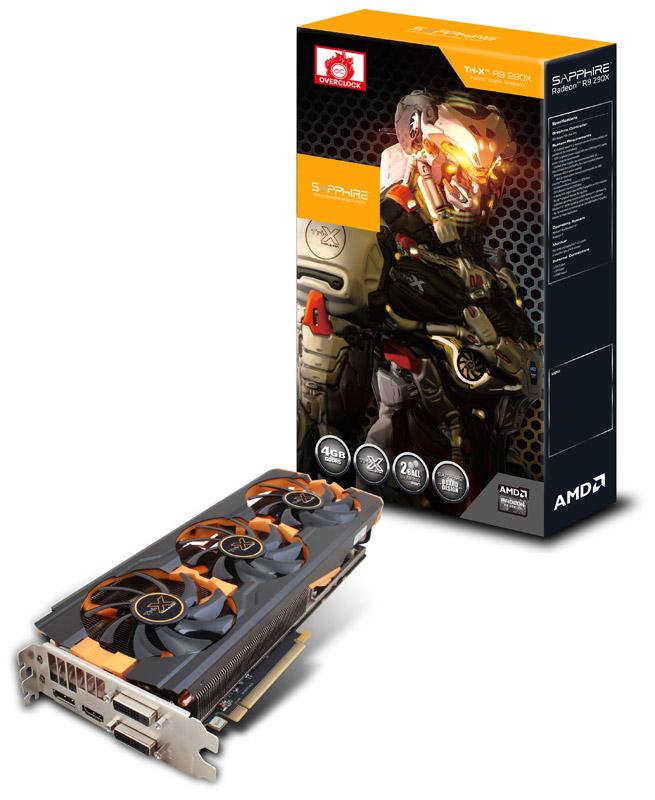 【送料無料】Sapphire R9 290X 4G GDDR5 PCI-E DUAL DVI-D / HDMI / DP TRI-X OC 正規代理店保証付 近日発売予定