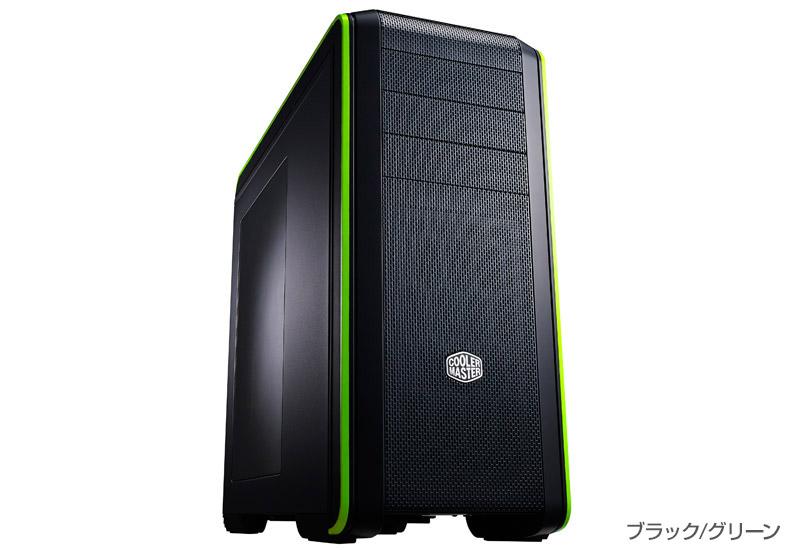 Cooler Master Technology CM 690 III Green 正規代理店保証付