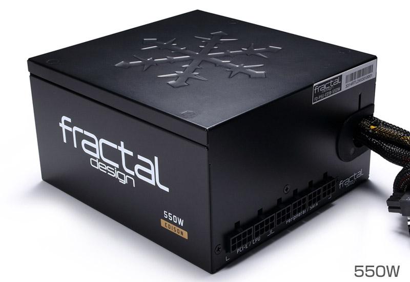 Fractal Design Edison M 550W 正規代理店保証付