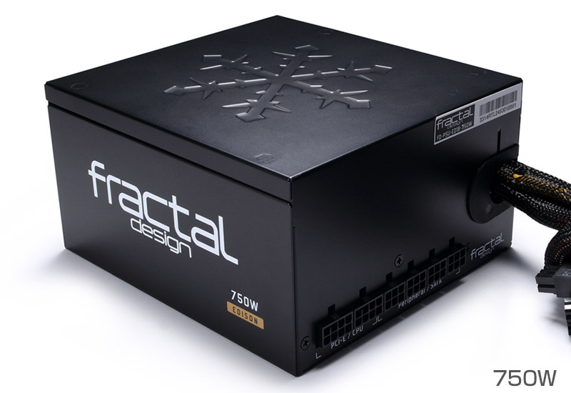Fractal Design Edison M 750W 正規代理店保証付