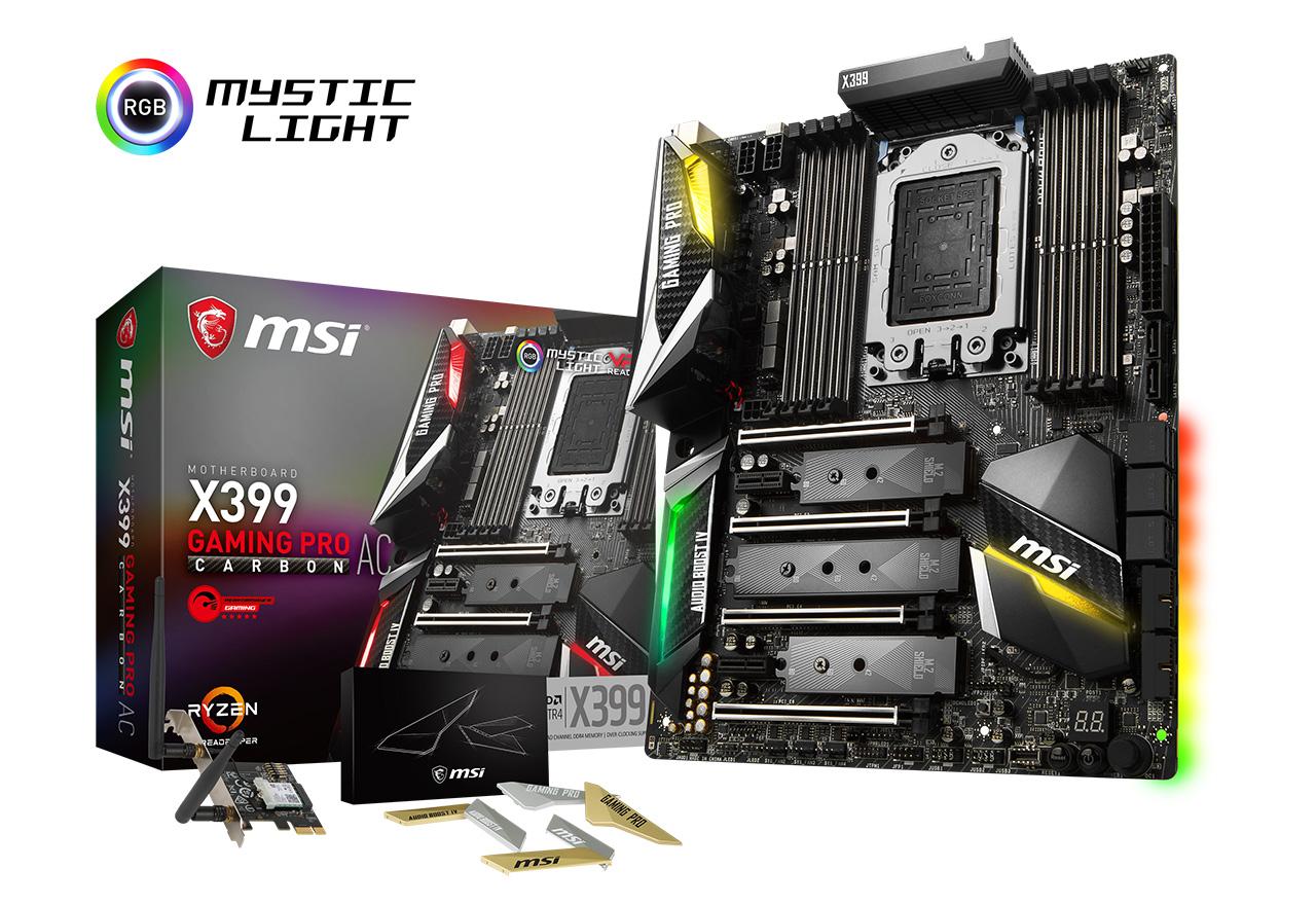 【送料無料】MSI X399 GAMING PRO CARBON AC 正規代理店保証付