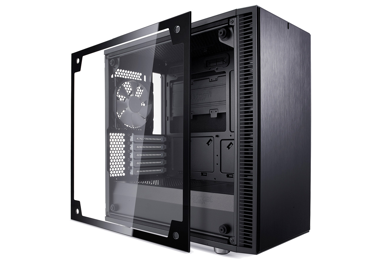 【送料無料】Fractal Design Define Mini C Black Tempered Glass 正規代理店保証付 cs6890
