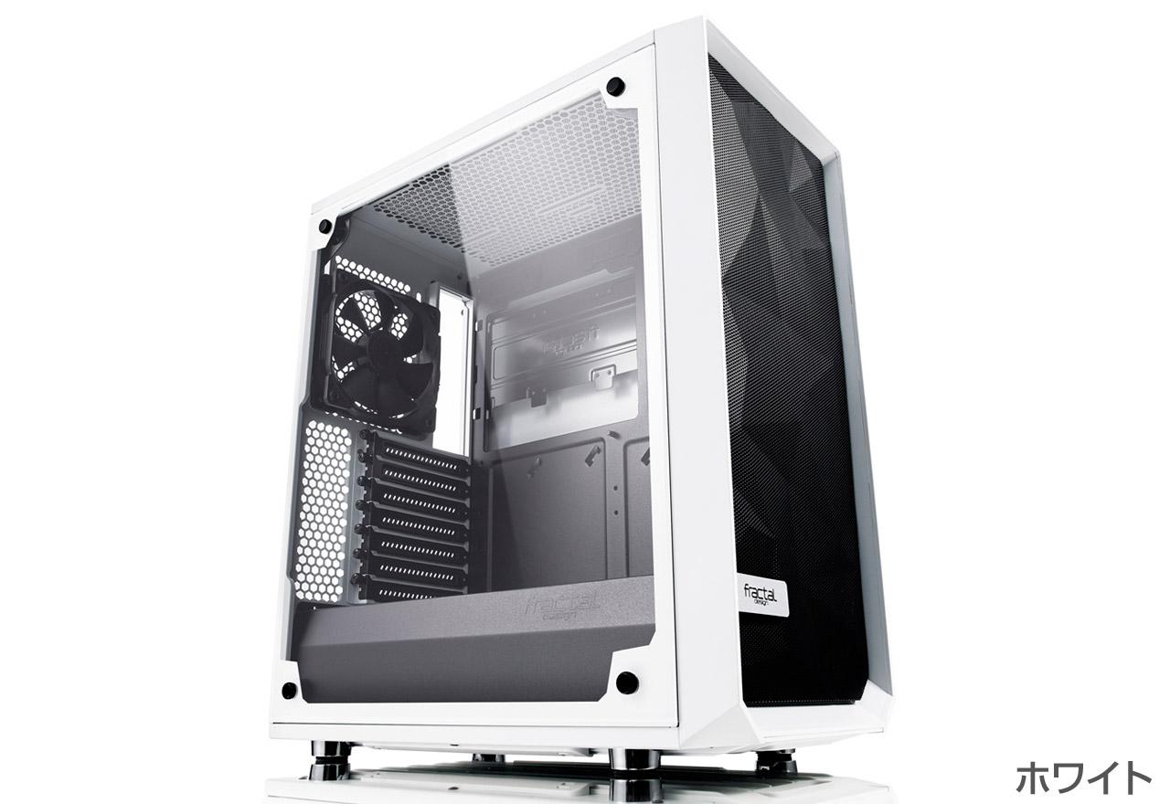 【送料無料】Fractal Design Meshify C White Tempered Glass 正規代理店保証付 cs7103