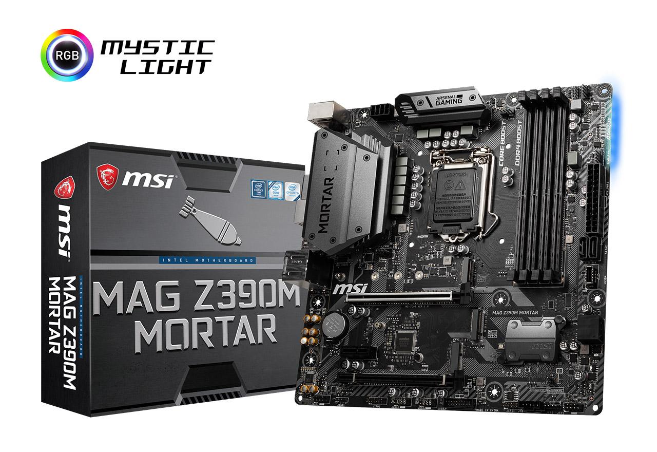 【送料無料】 MSI MAG Z390M MORTAR 正規代理店保証付 mb4645