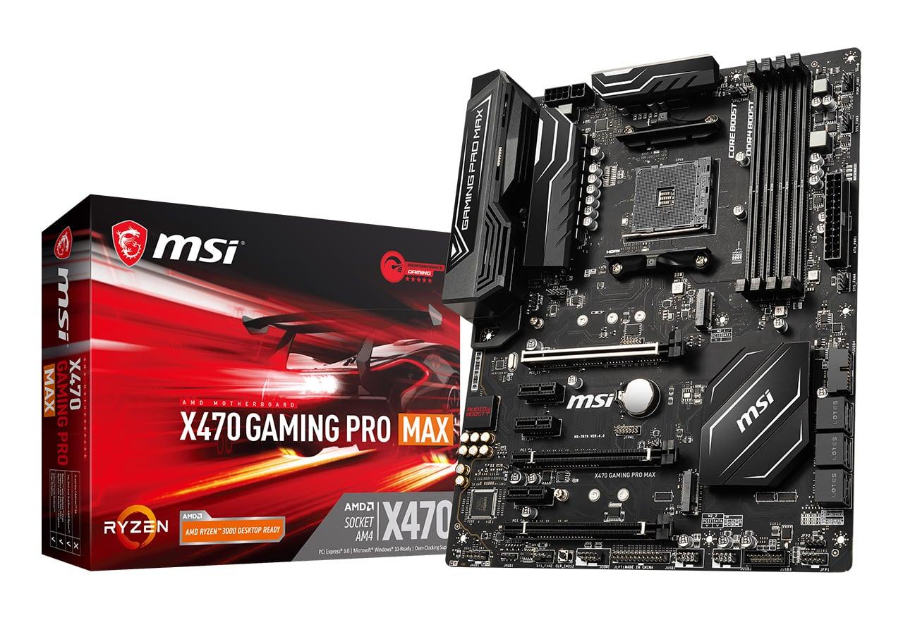【送料無料】MSI X470 GAMING PRO MAX 正規代理店保証付 mb4828