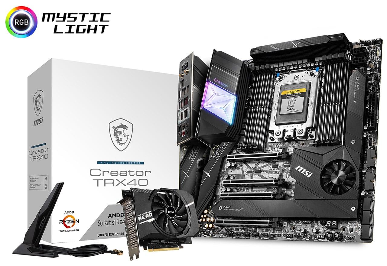 【送料無料】MSI Creator TRX40 正規代理店保証付 mb4880