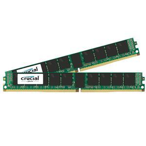 【送料無料】crucial 32GB Kit (16GBx2) DDR4 2133 MT/s (PC4-2133) CL15 DR x4 VLP ECC Registered DIMM 288pin 正規代理店保証付