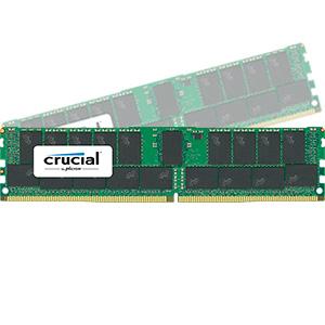 【送料無料】crucial 64GB Kit (32GBx2) DDR4 2400 MT/s (PC4-2400) CL17 DR x4 Registered DIMM 288pin 正規代理店保証付