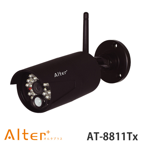 AT-8811TX AT8811TX 【キャロットシステムズ CAROT】 AT-8801専用増設無線カメラ