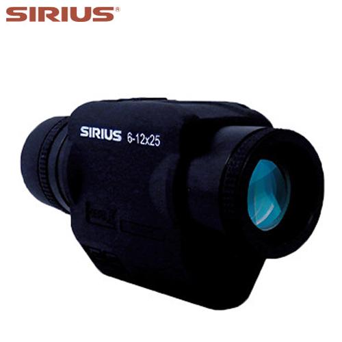 【阪神交易】ジャイロセンサー内蔵 手ブレ補正機能 単眼鏡 防振スコープ「シリウス SIRIUS 6-12×25」【送料無料】