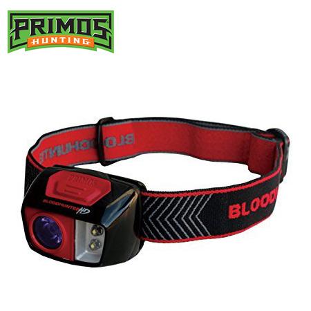 【プリモス(PRIMOS)】特殊光学フィルターフラッシュライト 血痕捜査ライト「ブラッドハンターHDヘッドライト(BLOODHUNTER HD HEADLIGHT)」