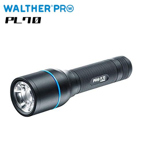 【ワルサープロ フラッシュライト (WALTHER PRO Flash Light)】 MAX935ルーメン ハイパワーLEDライト ハンディライト「ワルサープロ PL70」 【国内正規品】【送料無料】