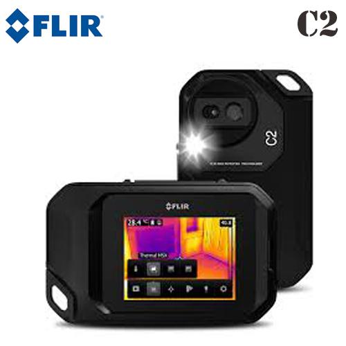 【FLIR(フリアーシステムズ)】3インチタッチパネルスクリーン 赤外線サーモグラフィ 「フリアーC2」【送料無料】
