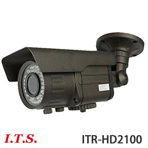 SDカードレコーダー(フルHD)搭載 防雨型赤外線LED付 バリフォーカルレンズ搭載 HD-SDI防犯カメラ ITR-HD2100 後継機種「ITR-HD2200」