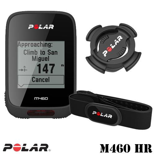 Polar(ポラール) GPS内蔵 サイクルコンピュータ M460 HR