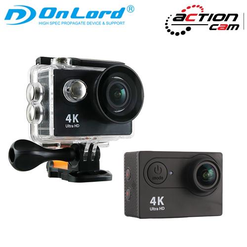 【OnLord(オンロード)】GoPro(ゴープロ)クラスの 4K対応 ウェアラブルカメラ アクションカム 「OL-103」