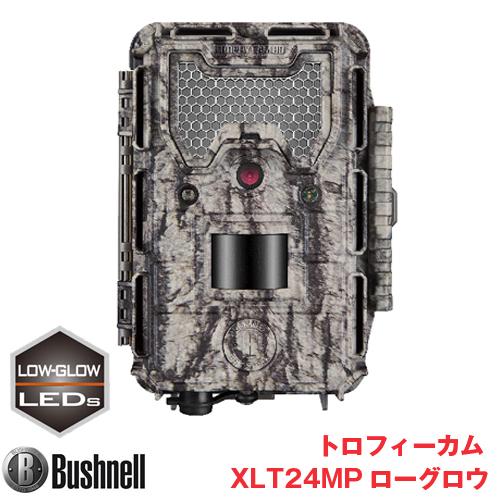 Bushnell(ブッシュネル)正規品 トレイルカメラ 人感センサー搭載 カラー液晶モニター内蔵 屋外型センサーカメラ トロフィーカム XLT 24MP ローグロウ BTR-XLT24MP-L