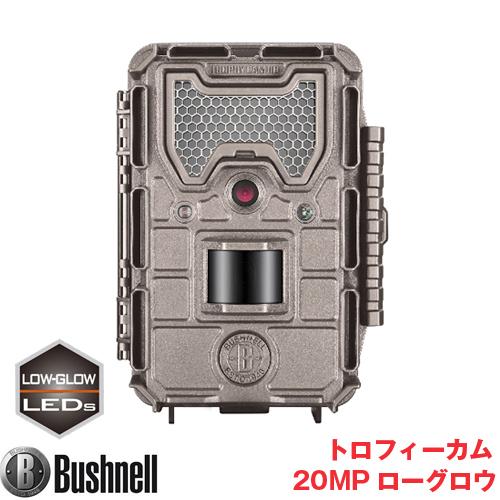 Bushnell(ブッシュネル)正規品 トレイルカメラ 人感センサー搭載 白黒テキストLCD内蔵 屋外型センサーカメラ トロフィーカム 20MP ローグロウ BTR-20MP-L