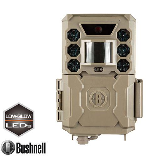 Bushnell ブッシュネル トレイルカメラ 人感センサー搭載 白黒テキスト液晶モニター内蔵 屋外型センサーカメラ 準不可視 赤外線LED トロフィーカム 24MP ローグロウ SC 日本正規品