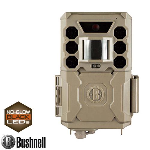 Bushnell ブッシュネル トレイルカメラ 人感センサー搭載 白黒テキスト液晶モニター内蔵 屋外型センサーカメラ 不可視 赤外線LED トロフィーカム 24MP ノーグロウ SC 日本正規品