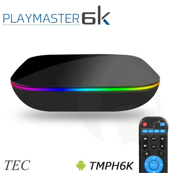 TEC テック TMPH6K 6K30Hz対応 4K60Hz HDR対応 Android9.0Pie アンドロイド メディアプレーヤー PLAY MASTER 6K