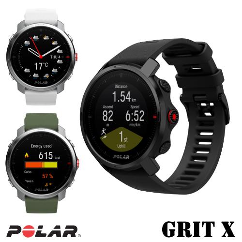POLAR(ポラール) GPS ルート ナビゲーション機能 搭載 アウトドア マルチスポーツウォッチ Polar Grit X(ポラール グリット エックス)