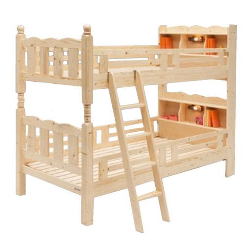 【送料無料】宮・ライト付き二段ベッド・木製キッズベッド【koshin0601】fr【YDKG-f】 02P12Jun12