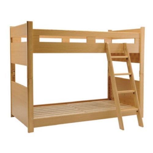 【送料無料】☆2019年新作高級なデザイン・素材☆ 木製キッズベッド上下連結固定式・上下段2段階高さ調整