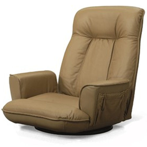 【送料無料】本革張り高級座椅子/フロアチェア【koshin0601】fr【YDKG-f】 02P12Jun12