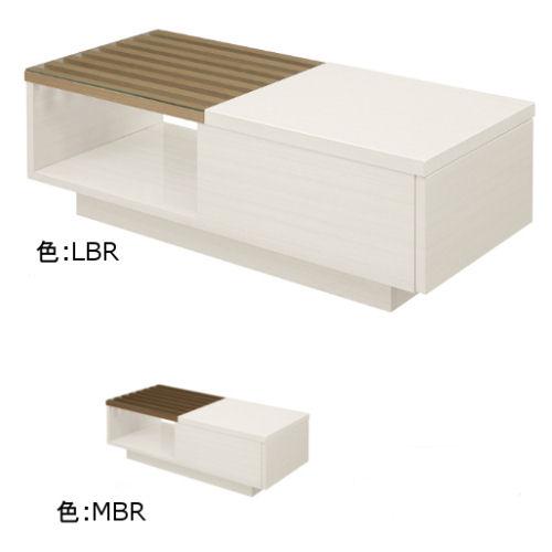 【送料無料】5mm強化ガラス使用!リビングテーブル便利な引出し付が人気です。