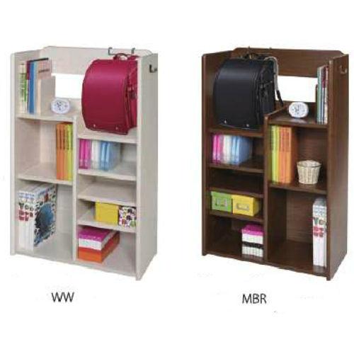 【送料無料】お子様の整理整頓がスムーズにできますカラーも3色から選べるランドセルラック