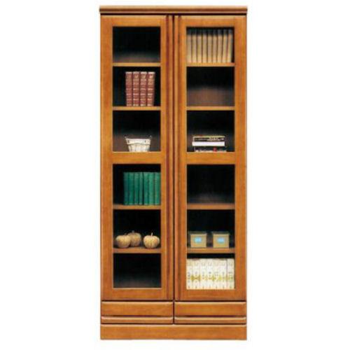 【送料無料】落ち着きのあるデザイン/表面天然木使用人気の800mm書棚【YDKG-f】 02P12Jun12