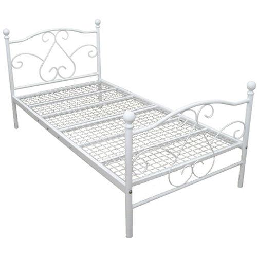 【エレガントなホワイトカラー!】【ホワイトパイプベッド】床板仕様変更メッシュ式になります【YDKG-f】 02P12Jun12