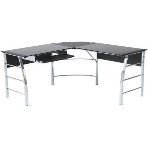 【interiorオフィス】【スタイル抜群!ワークガラステーブル】ガラスPCデスク L型3点セット【YDKG-f】 02P12Jun12
