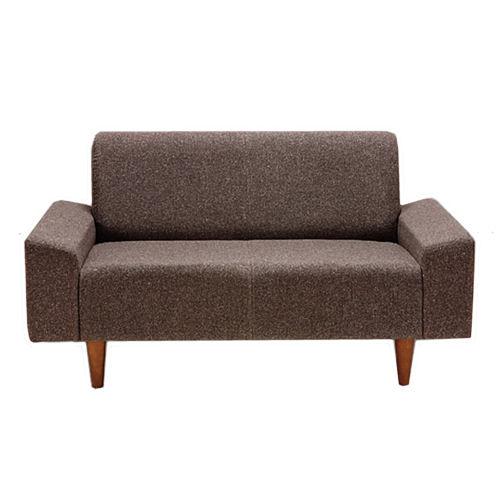 【送料無料】合成皮革と布張りが選べる国内品のソファ素材が自慢の使い勝手の良いコンパクトサイズ