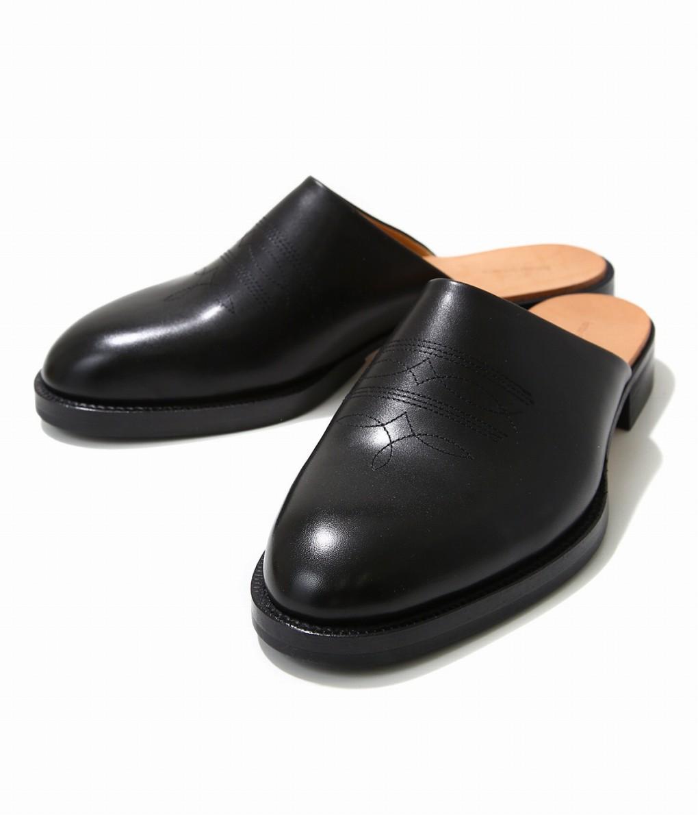 Hender Scheme / エンダースキーマ : cheak / 全3色 : エンダースキーマー チーク レザー 革 サンダル スリッパ 靴 シューズ メンズ : pm-rs-chk【RIP】【BJB】