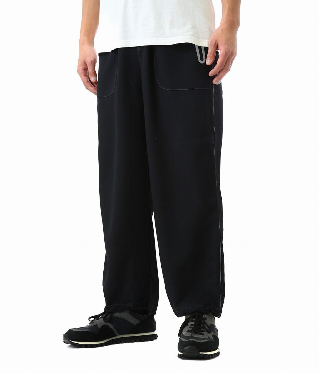 and wander / アンドワンダー : vent pants / 全2色 : ベントパンツ パンツ ロングパンツ メンズ : AW91-FF039 【PIE】