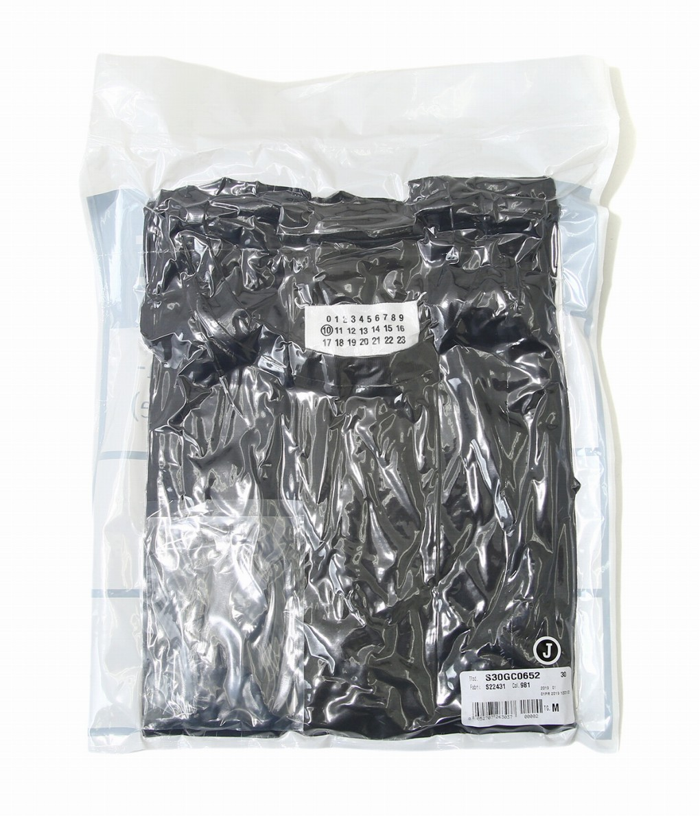 Maison Margiela / メゾン マルジェラ : PACK TEE-BLACK- : メゾン マルジェラ パック ティー メンズ : S30GC0652 【RIP】【BJB】