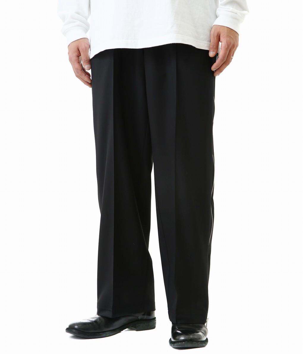 Maison Margiela / メゾン マルジェラ : WOOL POPELINE SIDE ZIP PANTS : ウール ポプリン サイド ジップ パンツ メンズ : S50KA0451 【RIP】
